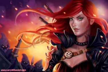 League of Legends - Katarina by LarryWilson