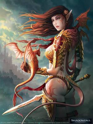 SHADOWFALL - Astalian Dragonkin by LarryWilson