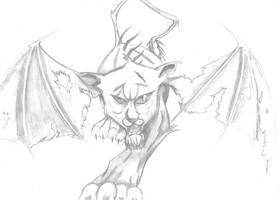Terrarum Creature/Species Bios: Manticore by Notebook0601