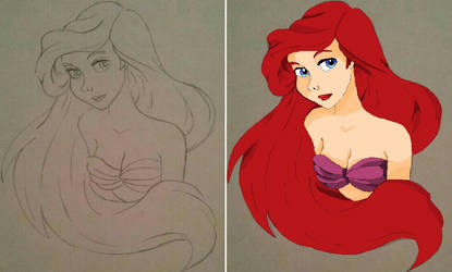 The Little Mermaid by Notebook0601