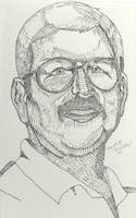 Dad in Pen and Ink by omisgirl