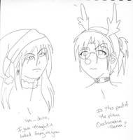 Kabuto Orochimaru Xmas by omisgirl
