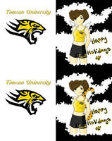 Towson University Holiday Card by omisgirl