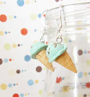 icecream earring 0 by PetiteCreation