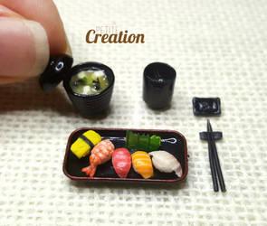 Miniature Sushi Set 2 by PetiteCreation