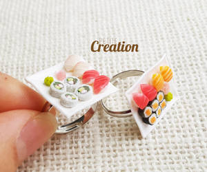 Miniature sushi ring by PetiteCreation