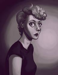 Dark Lilac by RayGunNoey