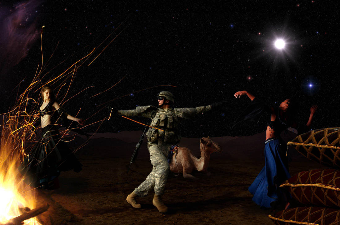 Desert Dancing by simdragon90