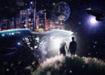 Futuristic Dreamscape by simdragon90