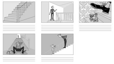 Safety in the Home- storyboard by JohnnyMc
