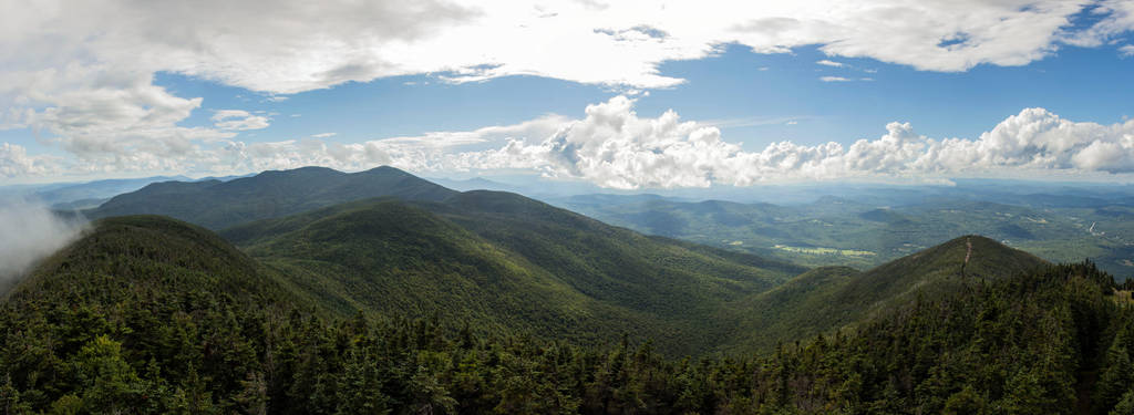 On Top of Canon Overlooking the White Mountains by MrDSir