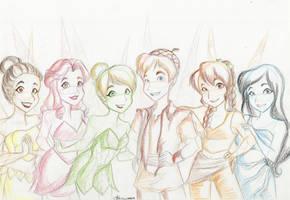 Fairy Friends by SkeletonStockings