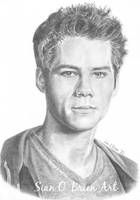 Dylan O' Brien by SianOBrienArt