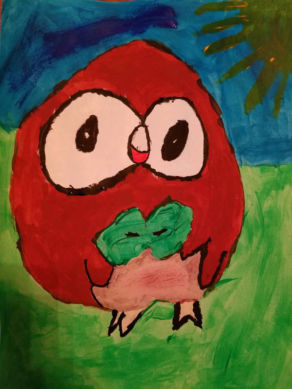 Zachary the Rowlett by ssstant