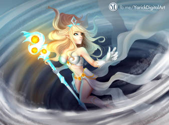 Janna League Of Legends by YarickArt