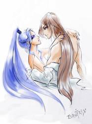 Cold love by Zoratrix