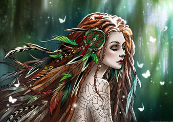 Forest Spirit by Zoratrix