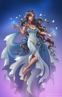 Lady Eris Commission by Zoratrix