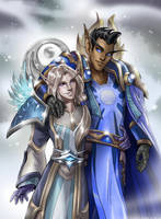 Comm: The couple by Zoratrix