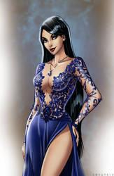 C: Ava the sorcerer by Zoratrix