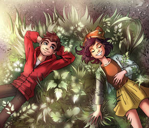 C: Magic grass by Zoratrix