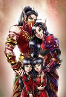 C: Rommath Family by Zoratrix