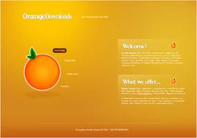 OrangeDowns Layout by gugiserman