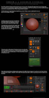 Asteroid Tutorial Zbrush 3.5 by StapleDroid