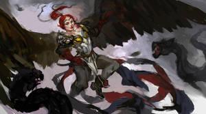 Battle in the sky by Lea1301