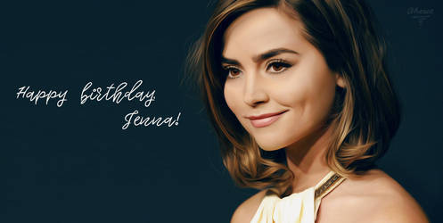 Jenna Coleman by Aheret