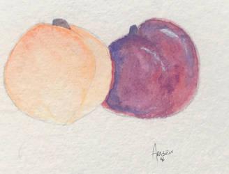 Peach and Plum by ArabellaTheKing