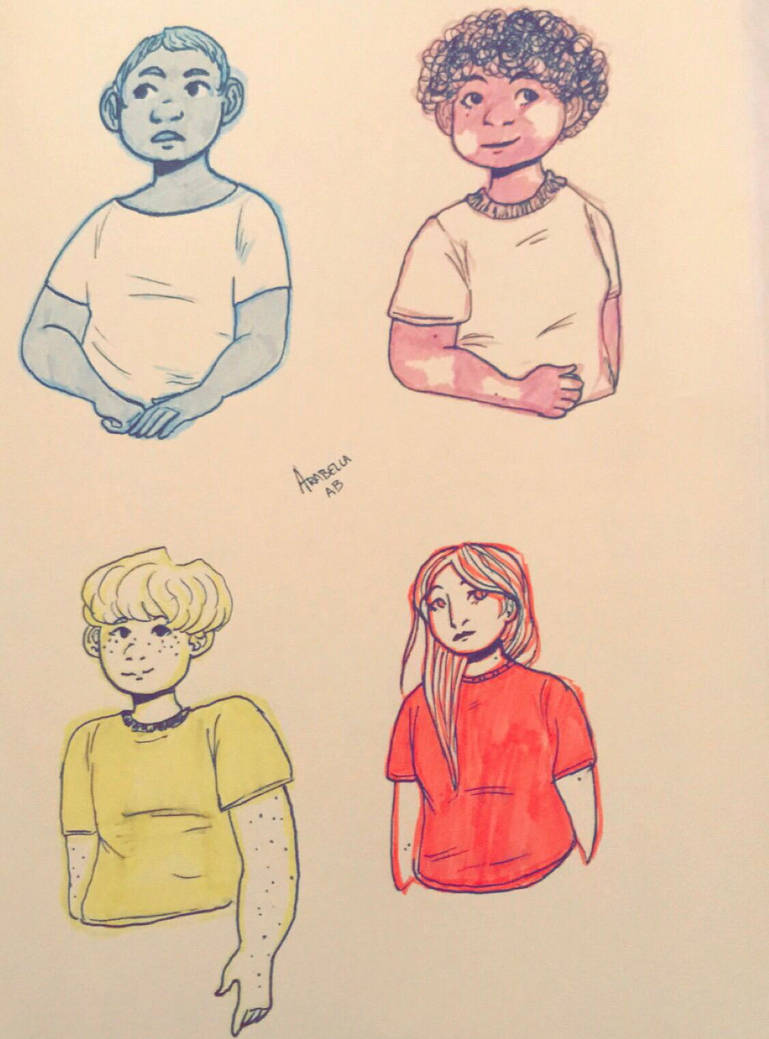 Study Hall doodles  by ArabellaTheKing