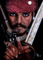 Jack Sparrow by visualwings