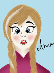 Anna Sketch Painting by Gabby572