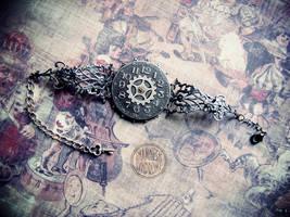 bracelet, l'heure sombre by Verope