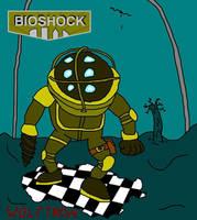 BIOSHOCK- Big Daddy by WolfTron