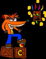 Crash Bandikoot by WolfTron