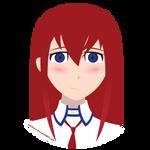 Kurisu Makise Portrait by WolfTron