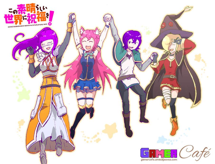 Gamer Cafe - Konosuba Cosplay by Daz-Keaty