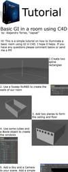 Basic GI in C4D tutorial R10 by capsat