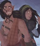 AT - Bress et Asha by GreenVikeen