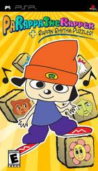 PaRappa the Rapper Fake Boxart by toki28