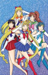 Sailor Moon Fanart by DanaBoBana