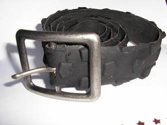 Recycled Bike Tyre Belt by Marroon