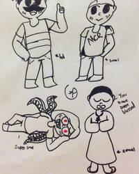 Langs Art Squad by AmaraCreationz