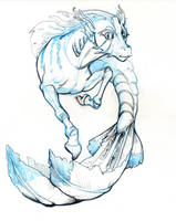 Hippocampus by In-Like-Flynn