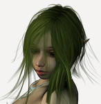 Green Gang Fae Portrait by stock4profs