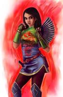 Disney Fighter - Mulan by joshwmc