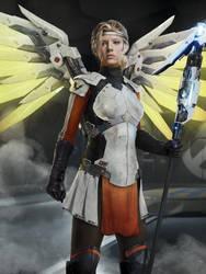 Mercy Overwatch Movie Concept by joshwmc