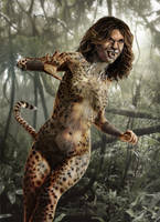 Cheetah Wonder Woman 84 Movie Concept by joshwmc